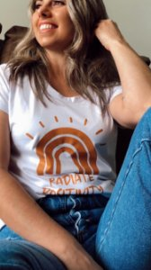 CAMISETA ESTAMPADA RADIATE POSITIVITY