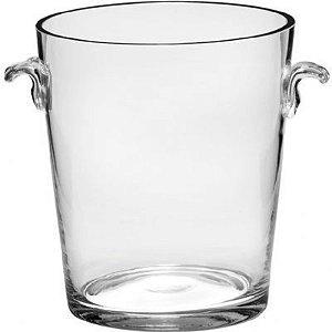 Balde de Gelo de Vidro Transparente 17cm - Vitro