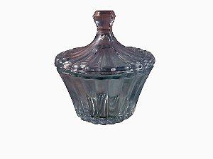 Bomboniere 13x14cm de vidro Incolor- GS
