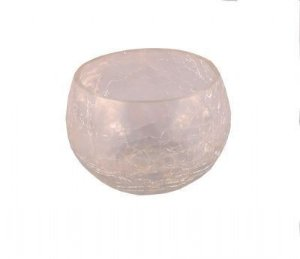 Castiçal de Vidro Kraklet 8,5x7cm