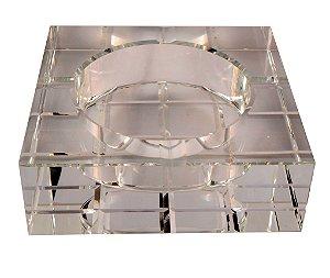 Cinzeiro de Cristal 15x15cm