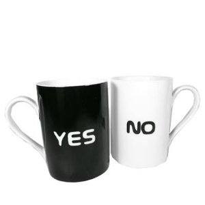 Conjunto de caneca 325ml Yes No