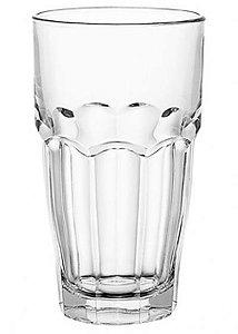 Copo para Agua 370ml de vidro incolor- Bormioli 6 peças