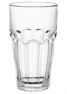 Copo para Agua 480ml de vidro incolor- Bormioli 6 peças