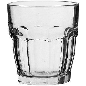 Copo Whisky 390ml Vidro Incolor 6 Peças - Bormioli Rock