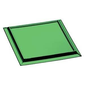 Porta Copo Quadrado de Acrílico Verde 6 peças - KOS