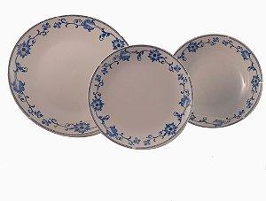 Jogo de Jantar em Porcelana 12 peças