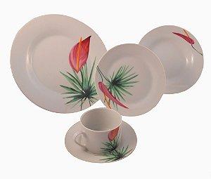 Jogo de Jantar em Porcelana 30 peças- Riserva