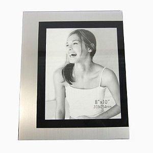 Porta Retrato 20X25cm Metal Preto - Orpheu