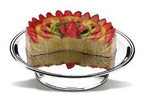Prato para bolo com pedestal 39cm- Brinox