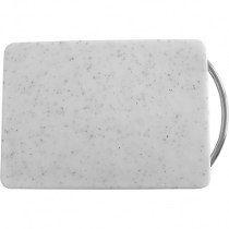 Tábua de Cozinha em Plástico Branco 28x20cm - Kuchenprofi