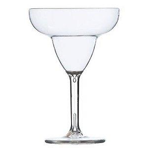 Taça de Margarita Acrílico Cristal 6 peças - KOS
