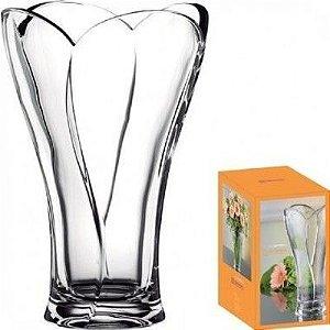 Vaso Decorativo 27CM de Cristal Transparente- Nachtmann