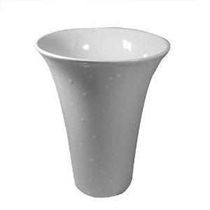 Vaso de Cerâmica 28cm Branco - GS Ashley