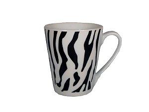 Caneca estampa de zebra - GME