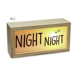 Lightbox Night Night