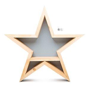 Nicho Estrela para decoração de quarto infantil