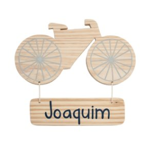 Bicicleta com nome do pituco