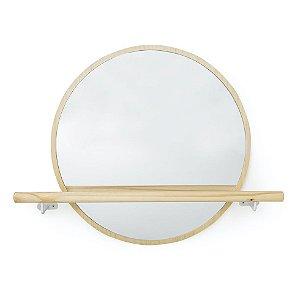 Espelho Redondo com barra de apoio (Collab com Arq. Cris Passos)