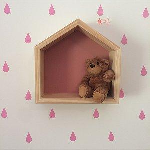 Adesivo de Parede Gotinhas para decoração de quartos infantis