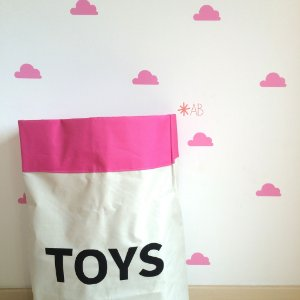 Adesivo de Parede Nuvem para decoração de quartos infantis