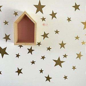 Adesivo de Parede Estrelinhas para decoração de quartos infantis