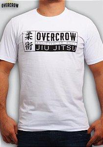 "Camiseta de Jiu Jitsu ""Addicted to Roll"" Branca"