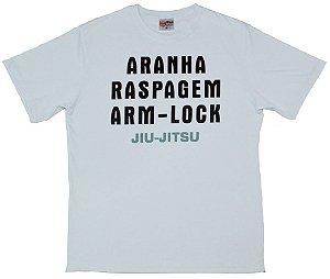 Camiseta de jiu jitsu Aranha Raspagem Armlock
