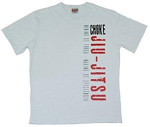 Camiseta de Jiu Jitsu Mínimo de Força, Máximo de Eficiência