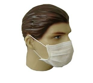 Mascara Descartável Dupla Com Elástico