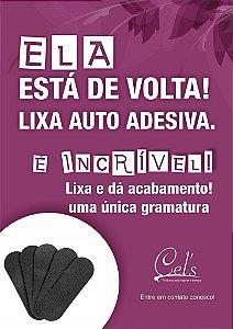 Lixa descartável para pés c/10 unidades Auto Adesiva