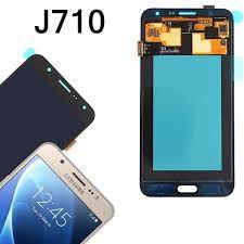Tela J7 Metal - J710 Original Retirada - Dourada