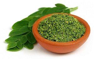 Moringa Oleifera Desidratada em folhas c/ 100 gramas