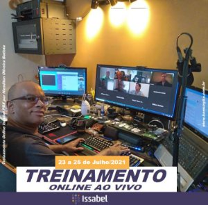 Treinamento em Issabel PBX - ONLINE AO VIVO - 23 A 25 DE JULHO 2021 - TELEFONIA IP
