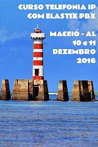 Curso Telefonia IP com Elastix PBX em Maceió-AL 10 e 11 Dezembro 2016