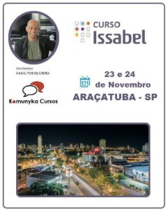 Curso de Issabel PBX IP na Prática em Araçatuba - SP - 5ª Turma 2019