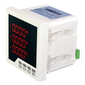 Medidor de Energia Trifásico para Painel OX-96-DGN