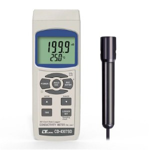 Condutivímetro Digital Portátil Datalogger CD-4307 Lutron