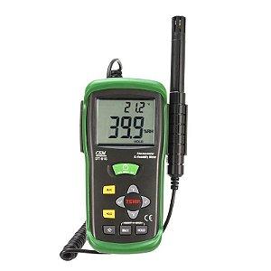 Medidor de Umidade e Temperatura do Ar IP-615 Impac