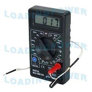 Multímetro Digital com Termômetro - DT-838