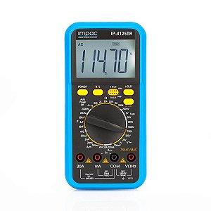 Multimetro Digital de Precisão True RMS IP-4125 Impac