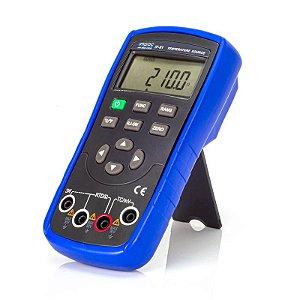 Calibrador de Temperatura Pt-100 e Termopar IP-01 Impac