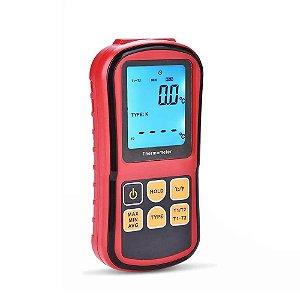 Termômetro Digital Portátil de 2 canais Termopar GM-1312 Impac