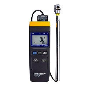 Anemômetro Digital de Micro Hélice YK-2001TM