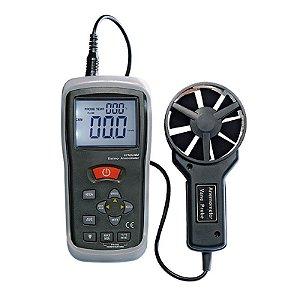 Termo Anemômetro CFM CMM com Infravermelho IP-720B