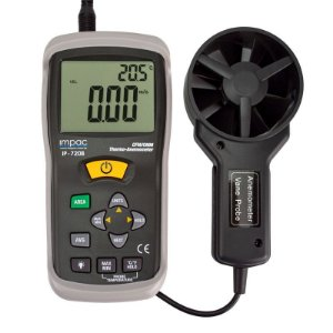 Termo Anemômetro c/ Vazão de Ar CFM/CMM IP-720B Impac