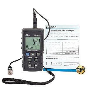 Dosímetro de Ruído Digital Datalogger DS-9200 Lutron + Certificado de Calibração Rastreável
