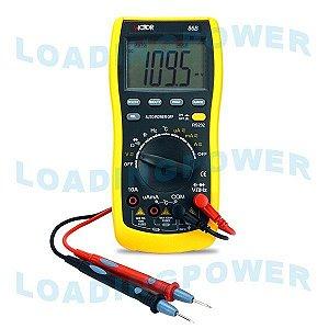 Multímetro Digital Autorange c/ comunicação USB VC-86B