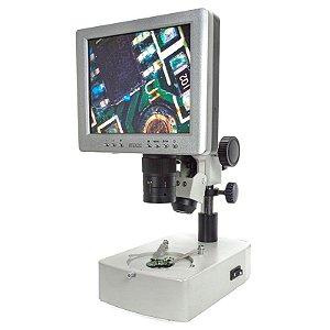 Microscópio Digital 100x com Tela LCD IP-2210 Impac