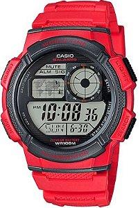 4a8ade67d63 Relógio Masculino Casio Digital Esportivo AE-1300WH-4AVDF - Megamix ...